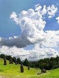 Τα σύννεφα Στοκ φωτογραφίες με δικαίωμα ελεύθερης χρήσης