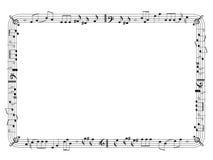 γραφική μουσική πλαισίων Στοκ φωτογραφία με δικαίωμα ελεύθερης χρήσης