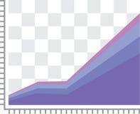 Γραφική παράσταση ΑΕΠ διανυσματική απεικόνιση