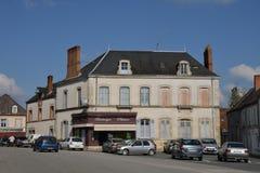 Γραφική πόλη Αγίου Benoit sur Loire στο Val-de-Loire Στοκ φωτογραφία με δικαίωμα ελεύθερης χρήσης