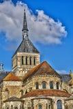 Γραφική πόλη Αγίου Benoit sur Loire στο Val-de-Loire Στοκ Φωτογραφία