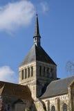 Γραφική πόλη Αγίου Benoit sur Loire στο Val-de-Loire Στοκ εικόνες με δικαίωμα ελεύθερης χρήσης