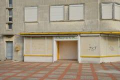 Γραφική πόλη της Στέλλα Plage στο Nord-Pas-de-Calais Στοκ Φωτογραφία