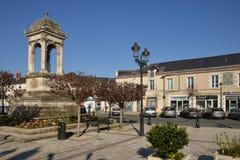 Γραφική πόλη Briare στο Loiret Στοκ φωτογραφίες με δικαίωμα ελεύθερης χρήσης
