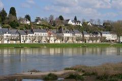 Γραφική πόλη Gien στο Loiret Στοκ Φωτογραφία