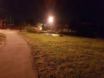 γραφικός ουρανός οδικών βράχων νύχτας δράματος Στοκ εικόνα με δικαίωμα ελεύθερης χρήσης