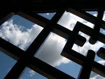 γραφικός ουρανός Στοκ εικόνες με δικαίωμα ελεύθερης χρήσης