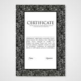 Γραφικό έγγραφο προτύπων σχεδίου με τα αφηρημένα τέρατα Στοκ φωτογραφίες με δικαίωμα ελεύθερης χρήσης