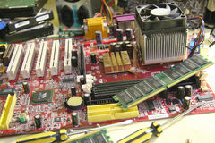 γραφικό απομονωμένο λευκό κατσαβιδιών επισκευής υπολογιστών προσαρμοστών Στοκ φωτογραφία με δικαίωμα ελεύθερης χρήσης