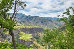 Γραφικό αρμενικό τοπίο βουνών Στοκ Εικόνες