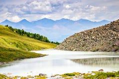 Γραφικό βουνό Altai Ρωσία τοπίων Στοκ Φωτογραφία