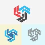 γραφικό διάνυσμα λογότυπων απεικόνισης στοιχείων σχεδίου Στοκ φωτογραφία με δικαίωμα ελεύθερης χρήσης