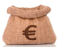 γραφικό διάνυσμα χρημάτων εικόνας grunge τσαντών ανασκόπησης Στοκ εικόνα με δικαίωμα ελεύθερης χρήσης