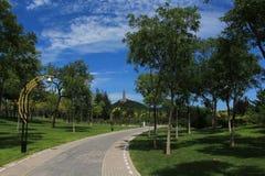 Γραφικό πάρκο του Βόρειου Χόλιγουντ Στοκ Εικόνα