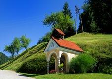 Γραφικό παρεκκλησι στη Σλοβενία Στοκ Φωτογραφία