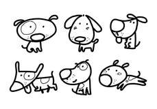 Γραφικό σκυλί, διάνυσμα στοκ φωτογραφίες