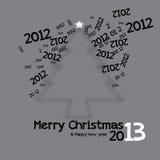 Γραφικό σχέδιο Χριστουγέννων Στοκ Φωτογραφίες
