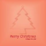 Γραφικό σχέδιο Χριστουγέννων Στοκ Εικόνα