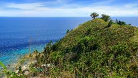 Γραφικό τοπίο θάλασσας. Στοκ Φωτογραφίες
