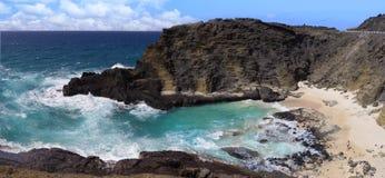Γραφικό τοπίο, Oahu, Χαβάη Στοκ Εικόνες