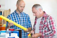 Γραφικό χρώμα ελέγχων σχεδιαστών με swatch χρώματος Στοκ εικόνα με δικαίωμα ελεύθερης χρήσης