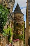 Γραφικό χωριό του Λα Roque Gageac σε Dordogne στοκ φωτογραφία με δικαίωμα ελεύθερης χρήσης