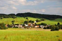 γραφικό χωριό Στοκ Εικόνες