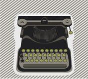 γραφομηχανή αντικειμένο&upsilon διανυσματική απεικόνιση