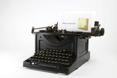 γραφομηχανή πωλήσεων Στοκ φωτογραφία με δικαίωμα ελεύθερης χρήσης