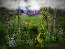 γρύλος 2 beanstalk Στοκ Φωτογραφίες