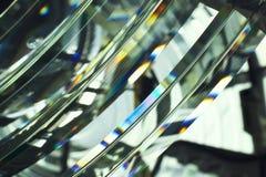 Γυαλί αναγνωριστικών σημάτων προβολέων με το φάσμα ουράνιων τόξων Στοκ φωτογραφία με δικαίωμα ελεύθερης χρήσης