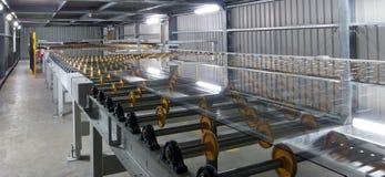 γυαλί εργοστασίων Στοκ εικόνα με δικαίωμα ελεύθερης χρήσης