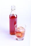 Γυαλί και μπουκάλι στοκ φωτογραφίες