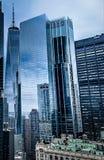 Γυαλί και χάλυβας NYC στοκ εικόνα
