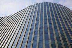 γυαλί κατασκευής σύγχρ&omi Στοκ Εικόνες