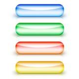 γυαλί κουμπιών Στοκ φωτογραφία με δικαίωμα ελεύθερης χρήσης