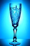 γυαλί κρυστάλλου ένα Στοκ Φωτογραφία