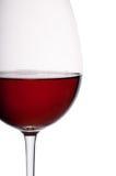 Γυαλί κόκκινου κρασιού Στοκ Εικόνα