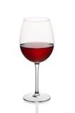 Γυαλί κόκκινου κρασιού Στοκ Φωτογραφίες