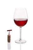 Γυαλί κόκκινου κρασιού Στοκ φωτογραφίες με δικαίωμα ελεύθερης χρήσης
