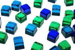 γυαλί κύβων Στοκ φωτογραφία με δικαίωμα ελεύθερης χρήσης