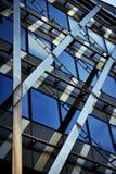 Γυαλί λεπτομέρειας λεπτομέρειας του κτηρίου χάλυβα Στοκ φωτογραφίες με δικαίωμα ελεύθερης χρήσης