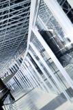 γυαλί/μέταλλο Στοκ Φωτογραφία