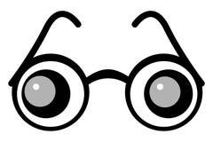 γυαλί ματιών διανυσματική απεικόνιση