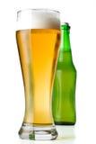 γυαλί μπουκαλιών μπύρας στοκ φωτογραφία