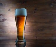 γυαλί μπύρας χρυσό Στοκ εικόνα με δικαίωμα ελεύθερης χρήσης
