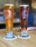γυαλί μπύρας ψηλό στοκ φωτογραφίες με δικαίωμα ελεύθερης χρήσης