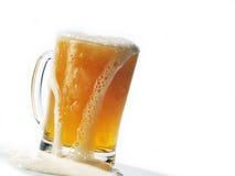 γυαλί μπύρας Στοκ εικόνα με δικαίωμα ελεύθερης χρήσης