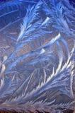 γυαλί παγετού σχεδίων Στοκ εικόνες με δικαίωμα ελεύθερης χρήσης