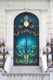 γυαλί πορτών που λεκιάζ&omicron Στοκ Εικόνες